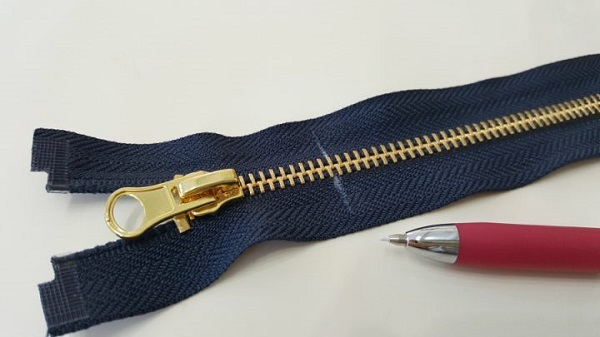 Tutorial: Shorten an open ended metal zipper