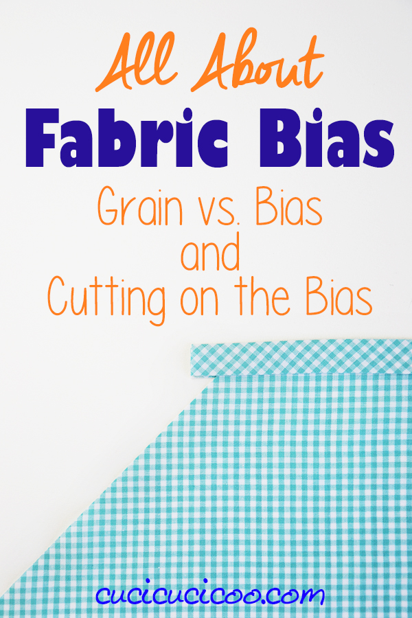 Tutorial: Fabric bias and how to use it