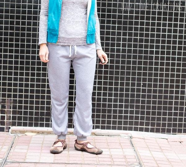 Free pattern: Women's jogger pants