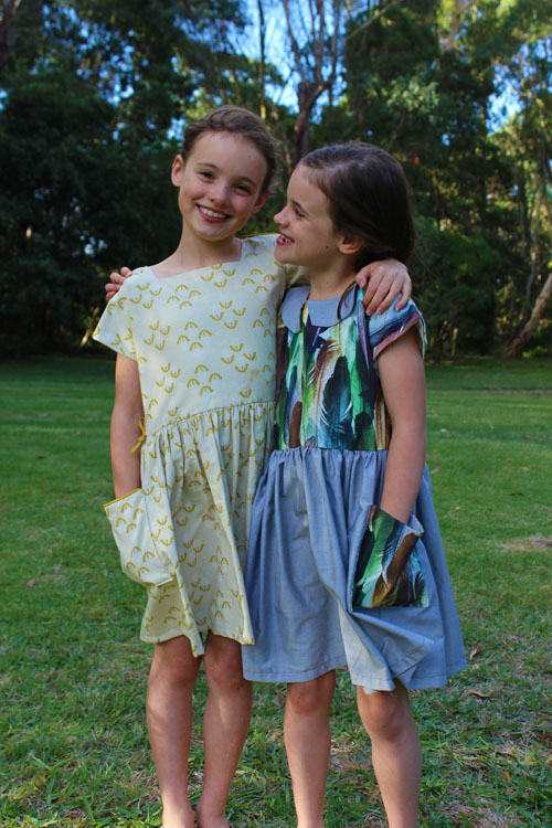 Tutorial and pattern: Dulcie Dress for girls