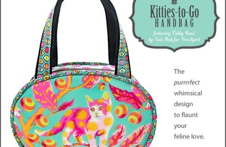 Tutorial and pattern: Little oval handbag