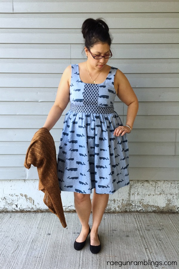 Video tutorial: Sew a shirred back dress in just 2 hours