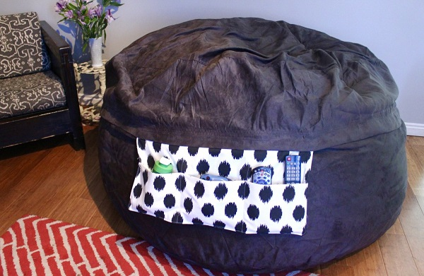 Tutorial: Add pockets to a bean bag