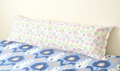 Tutorial: Body pillow cover and insert