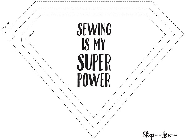 Printable: Sewing practice sheets – Sewing