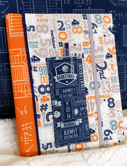 Tutorial: Composition book cover with a pencil pocket