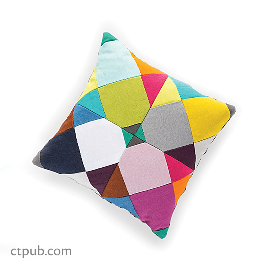 Tutorial: Kaleidoscope patchwork pincushion