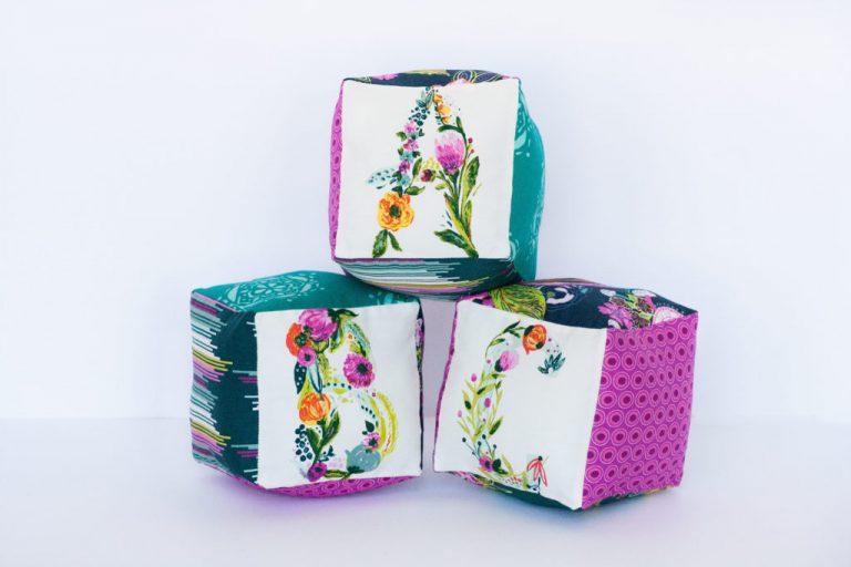 Tutorial: Soft fabric blocks for baby