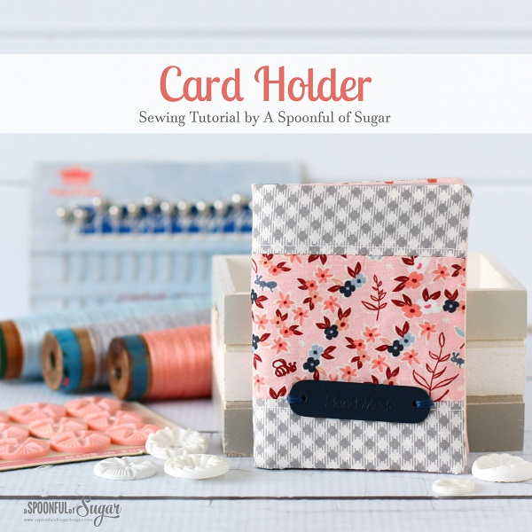 Tutorial: Business card or loyalty card wallet