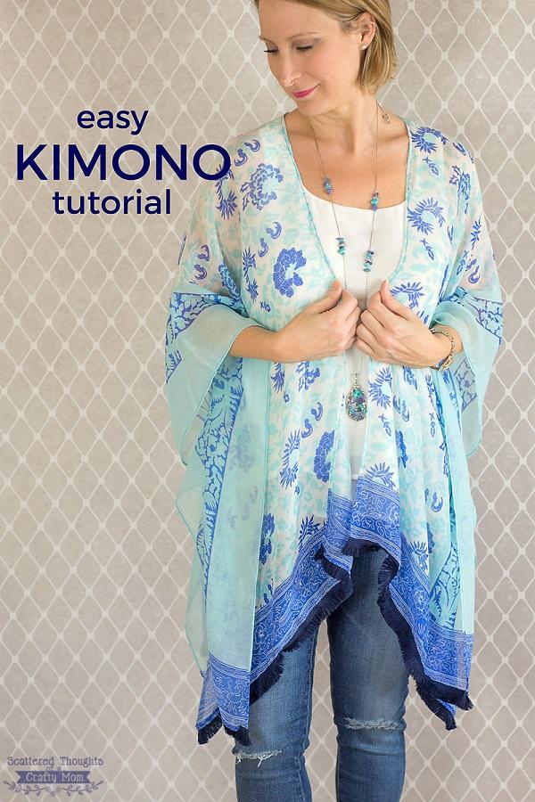 Tutorial: Easy kimono top