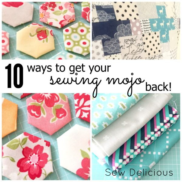 10 tips for getting out of your sewing rut