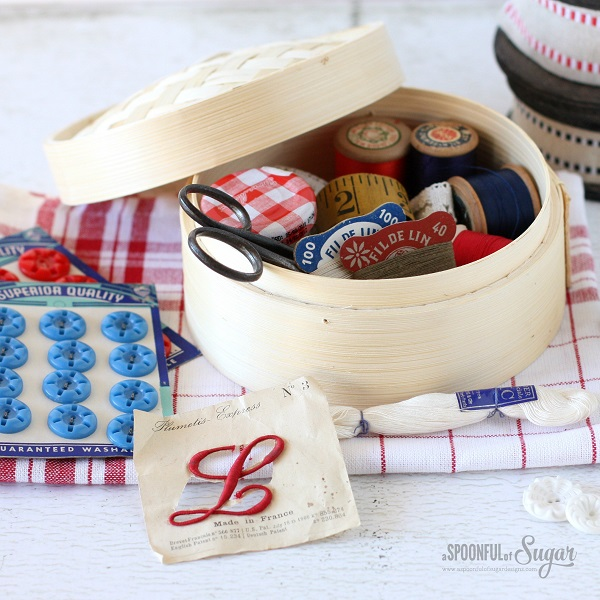 Tutorial: Bamboo steamer sewing kit