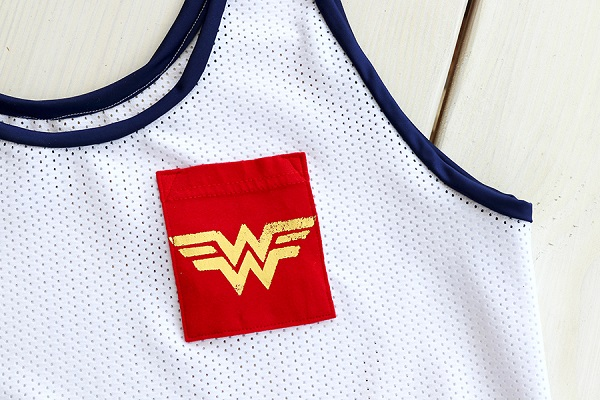 Tutorial: Wonder Woman tank top