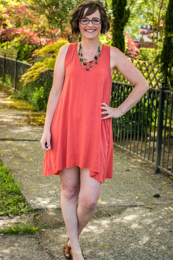Tutorial and pattern: Magnolia summer swing dress