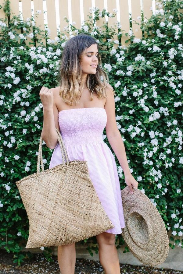 Tutorial: Shirred summer dress