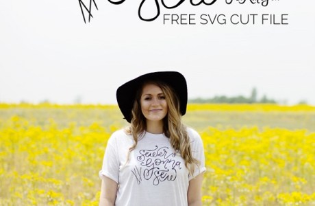 Tutorial and cut file: Sewers Gonna Sew t-shirt