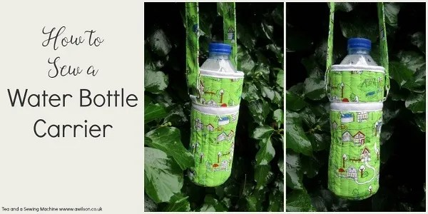 Tutorial: Quilted water bottle carrier