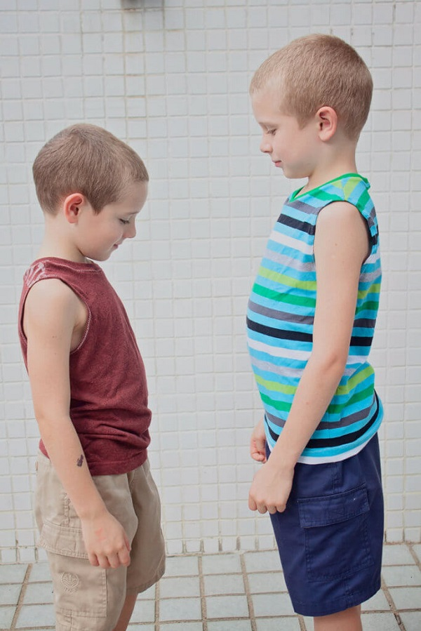 Tutorial and pattern: Boys tank or muscle shirt