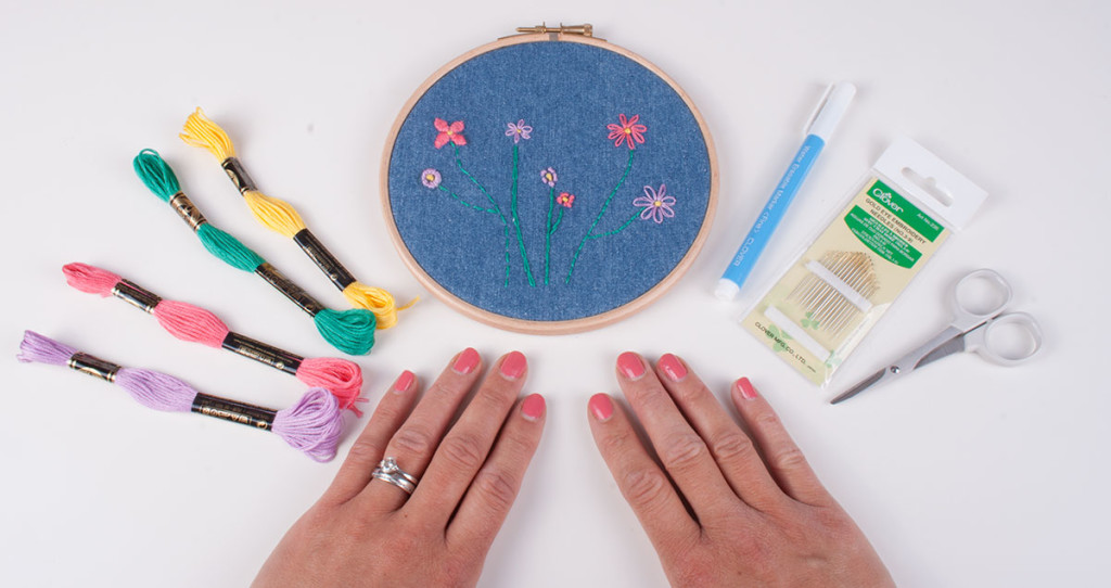 Tutorial: 7 easy embroidery stitches