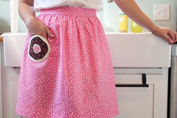 Tutorial: Donut pocket apron