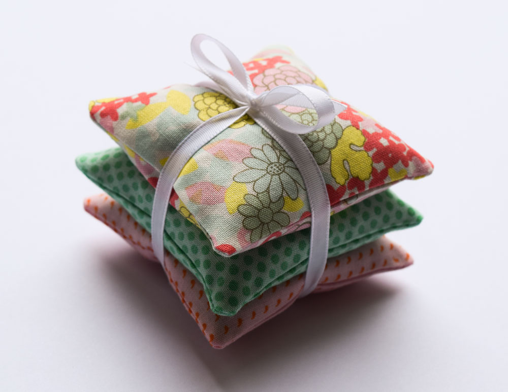 Tutorial: Fabric scrap lavender sachets