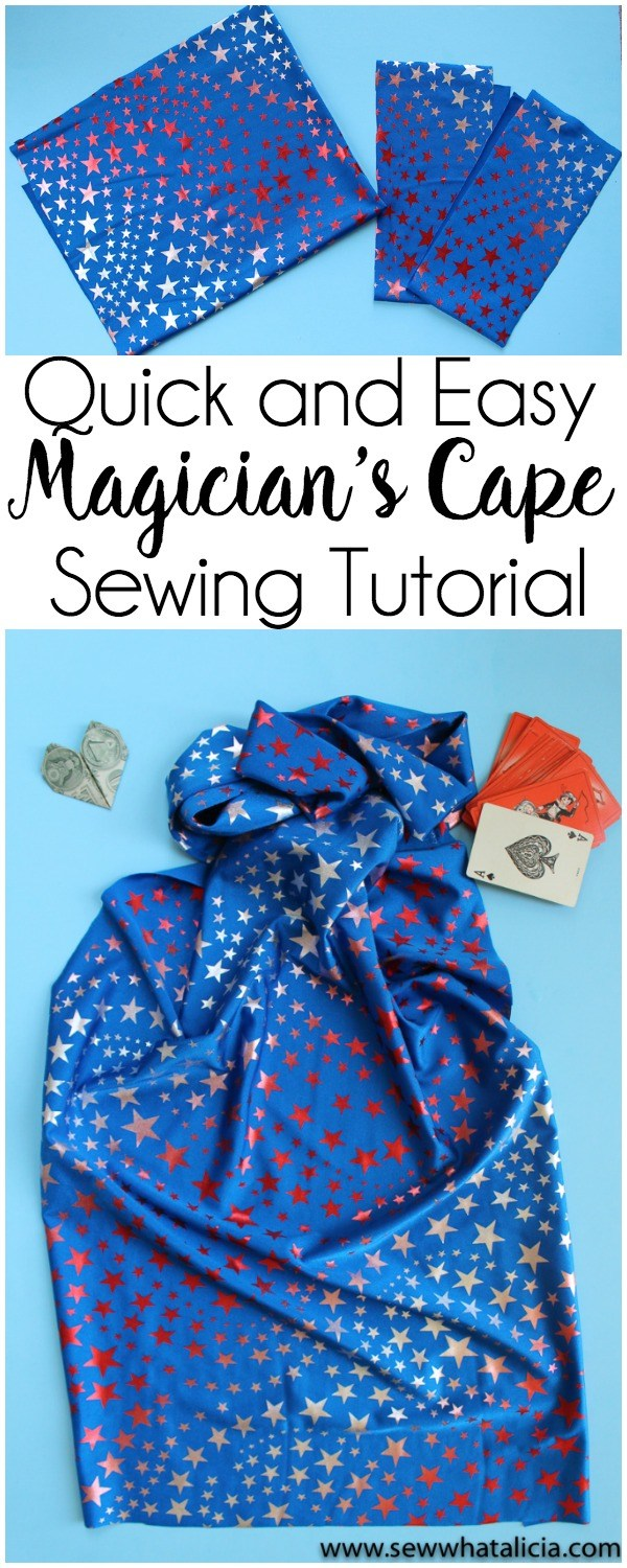 Tutorial: Easy magician's cape