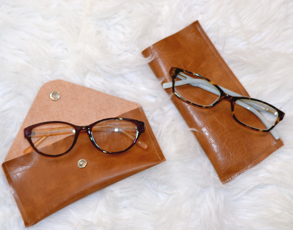 Tutorial Simple leather glasses case