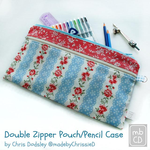Tutorial: Double zipper pouch