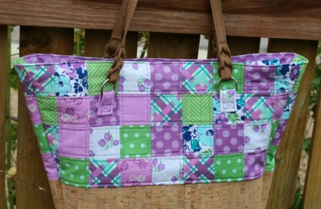 Tutorial: Patchwork teacher tote