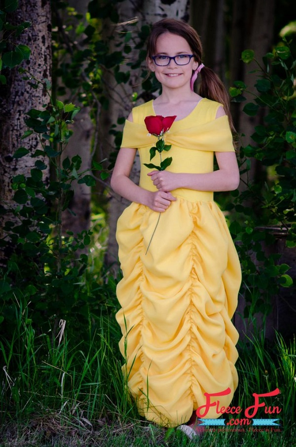 Tutorial: Beauty and the Beast Belle costume dress