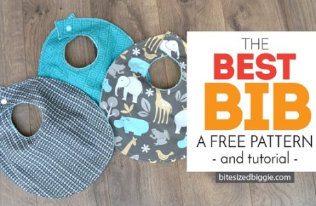 Tutorial and pattern: Best Baby Bib