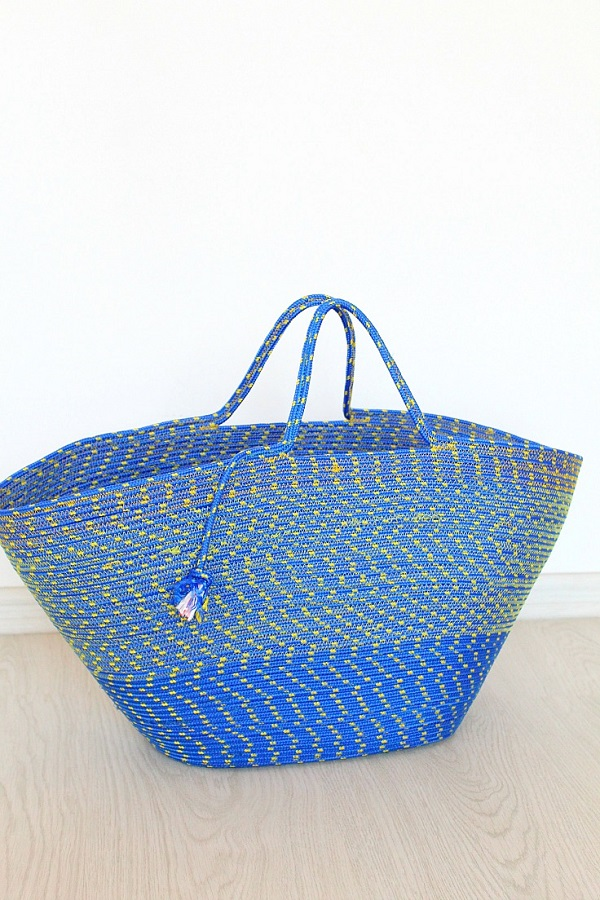 Tutorial: Sew a rope tote