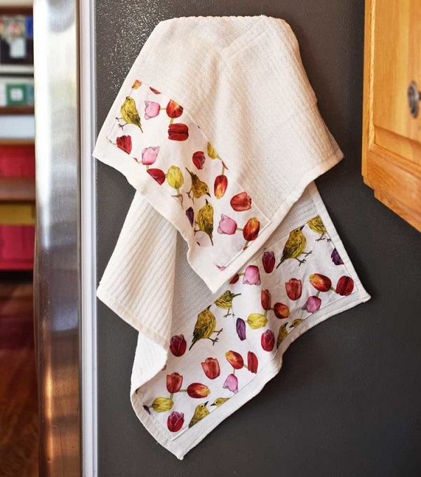 Tutorial: Easy magnetic dish towel