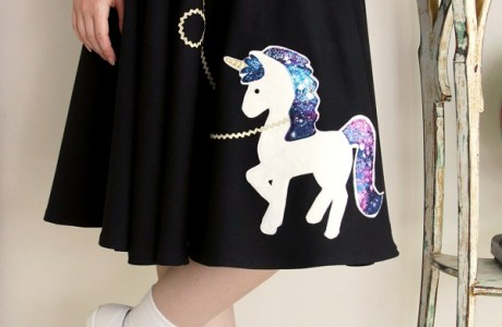 Tutorial: Unicorn fifties costume skirt