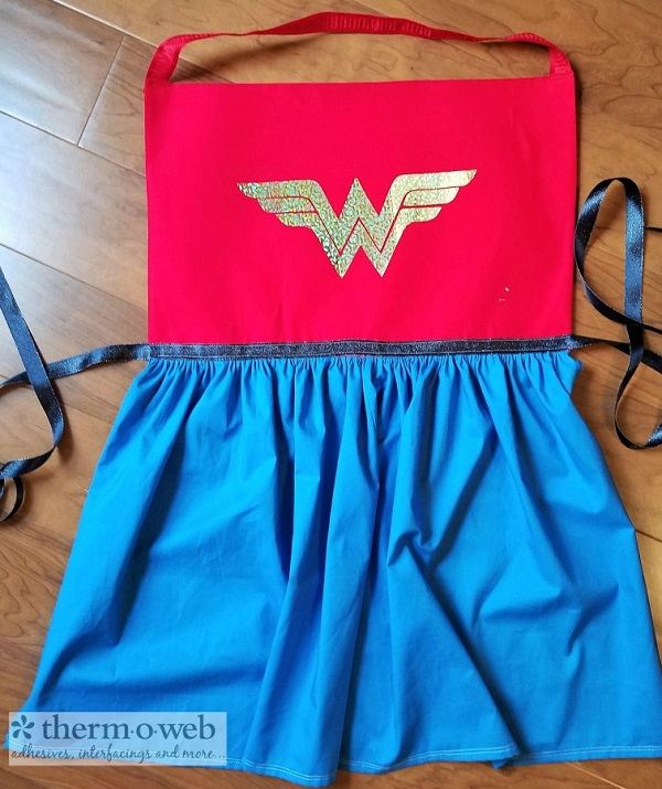 Tutorial: Wonder Woman costume apron