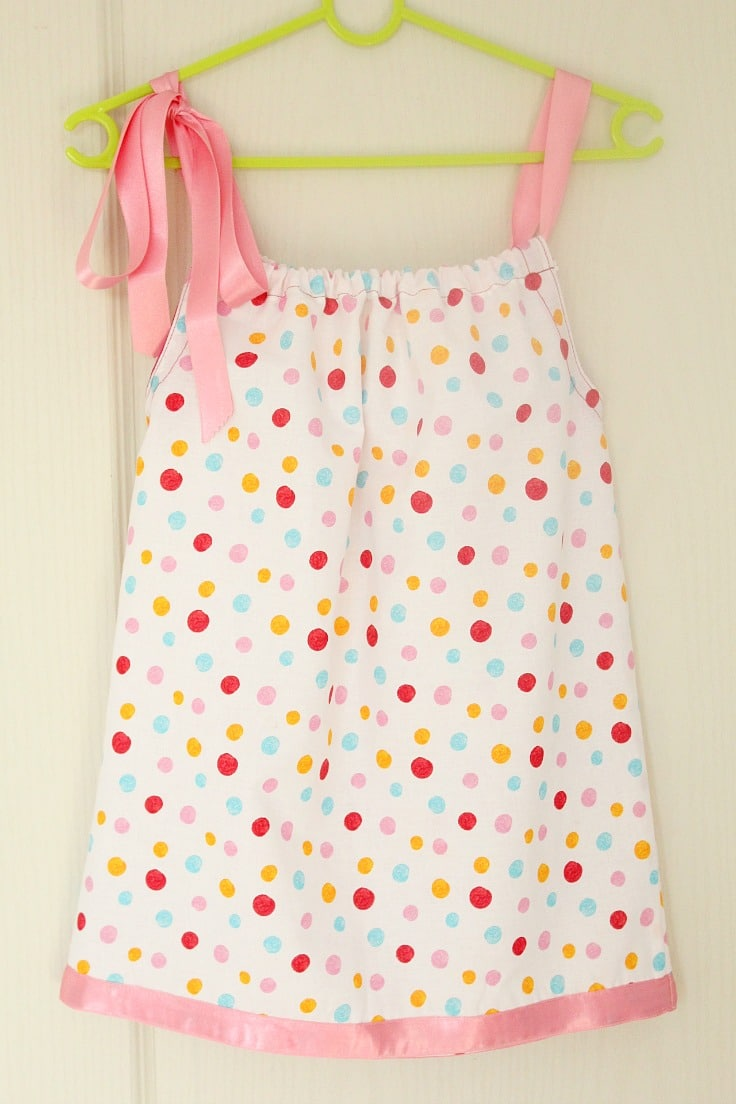 Tutorial: Pillowcase dress for beginner sewists