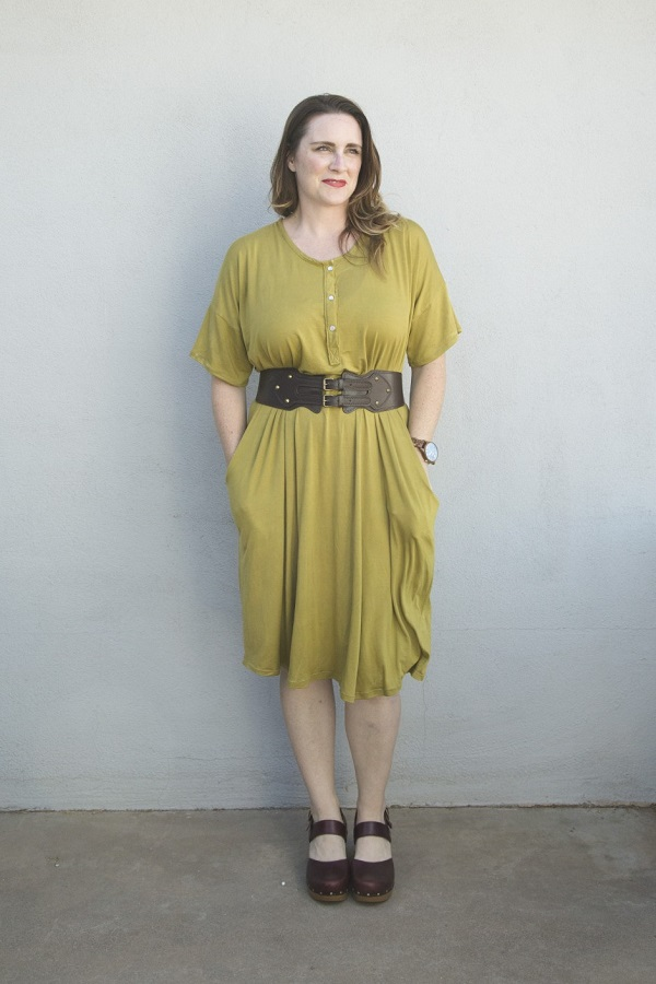 Tutorial and pattern: Mara lounge dress