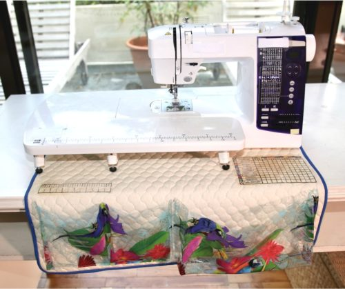 Tutorial: Sewing machine mat and organizer
