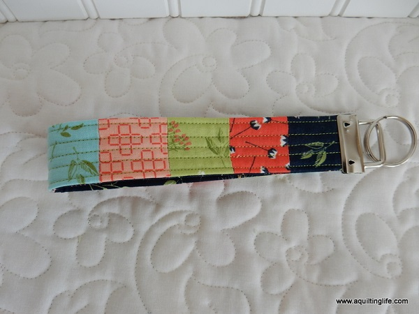 Tutorial: Patchwork key fob