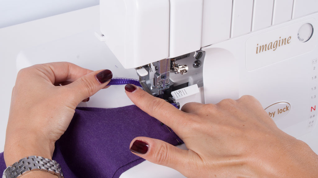 Tutorial: 5 useful serger techniques for sewing clothes