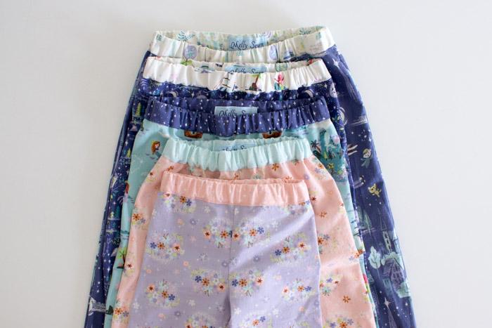 Tutorial: How to sew kids pajama pants