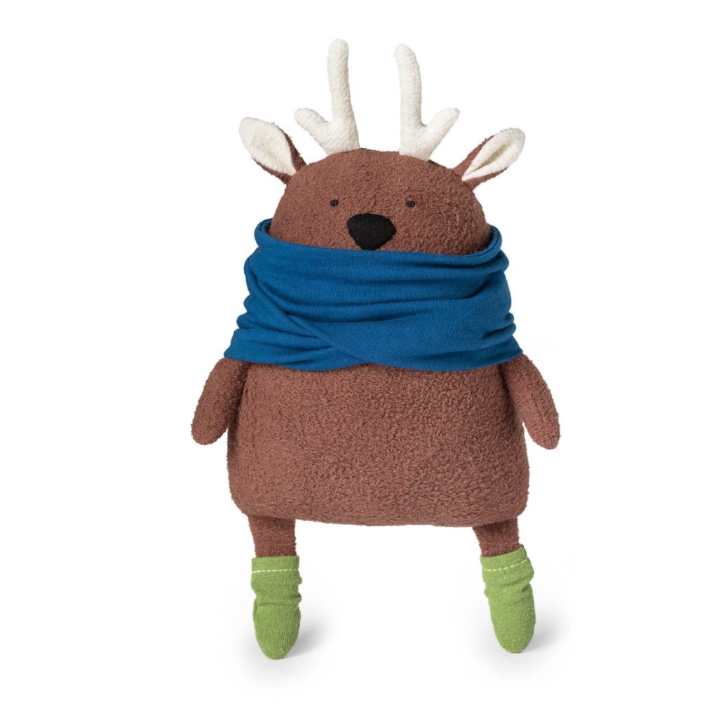 Tutorial and pattern: Doodles the Deer softie