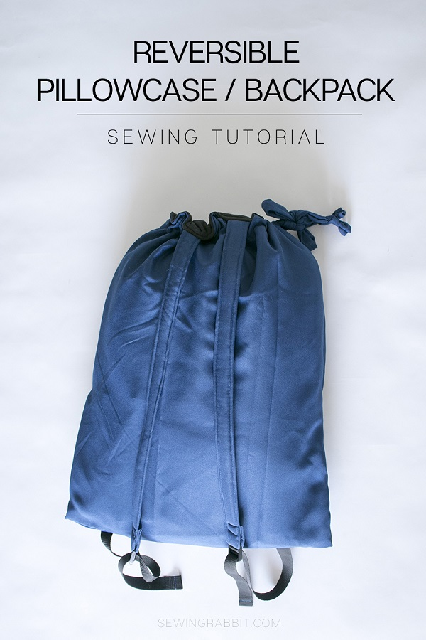 Tutorial: Reversible pillow and backpack