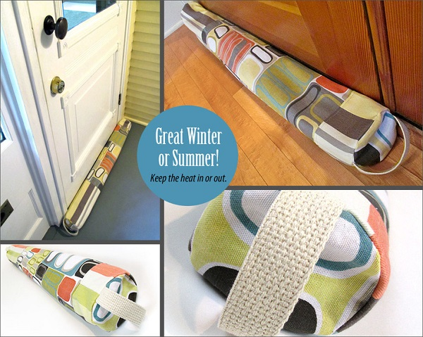 Tutorial: Sew a door draft guard