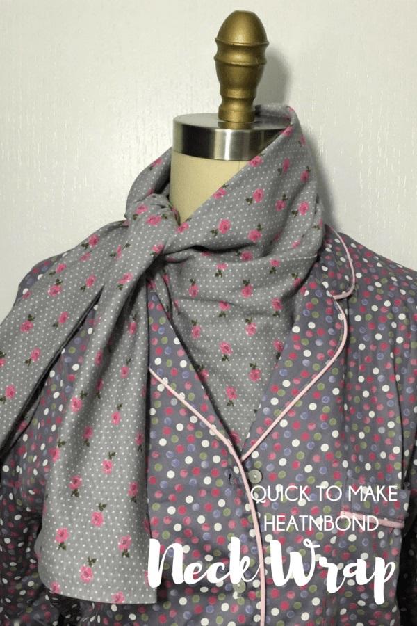Tutorial: Vapor rub neck wrap