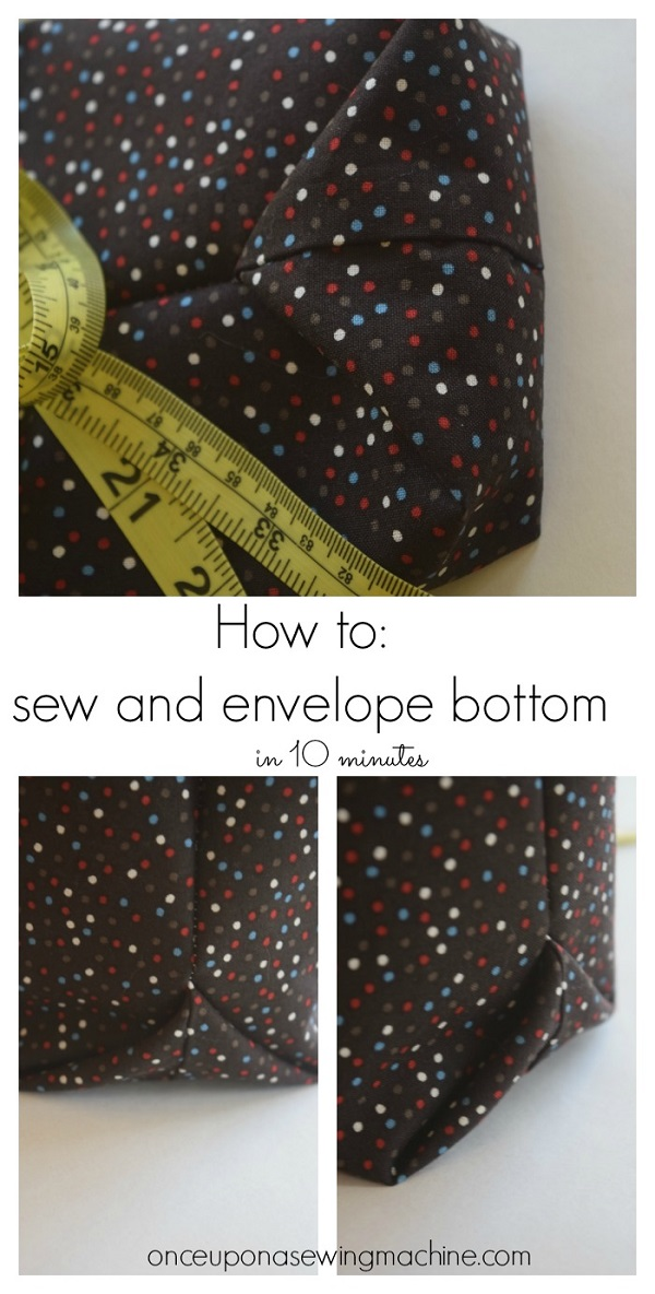 Tutorial: Easy method for boxing a bag bottom