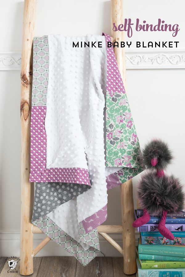Tutorial: Patchwork Minky baby blanket