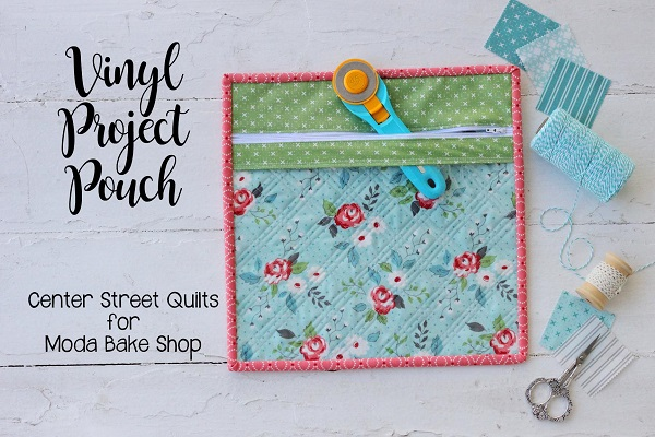 Tutorial: Clear front project zip pouch