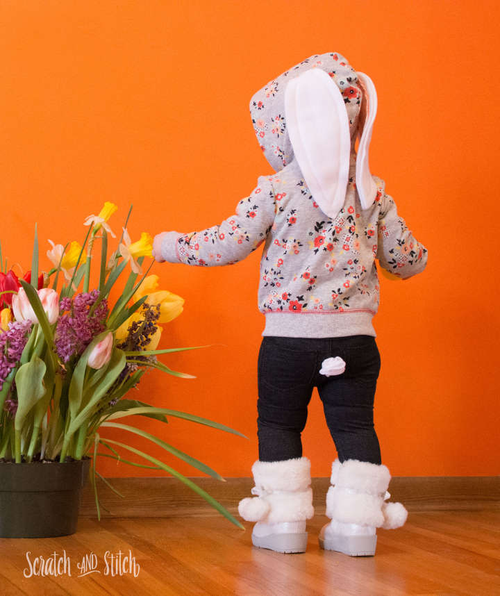 Tutorial: Easter bunny hoodie