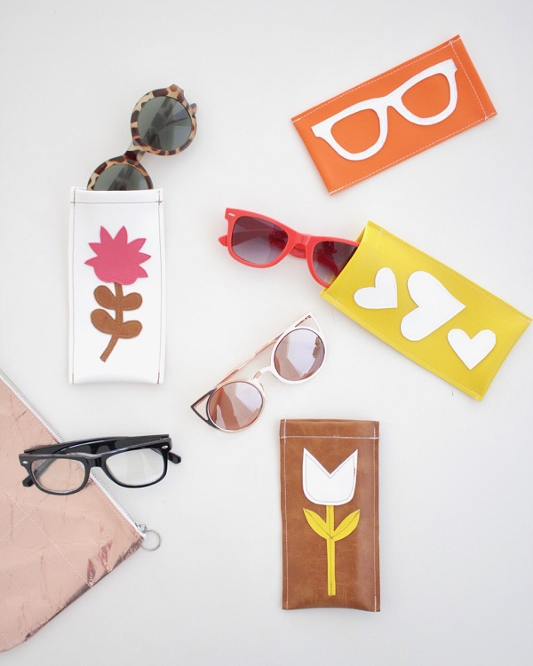 Video tutorial: Simple vinyl sunglasses case